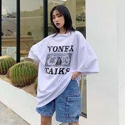 2019 春夏★最強の新作★韓国ファッション原宿BF可愛い カジュアル 半袖 Tシャツ 男女
