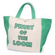 【2019新作予約】FRUIT OF THE LOOM_TWOTONE TOTE BAG