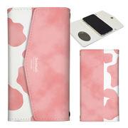 iPhone 11 Pro 7 8 X XS Max XR 手帳型 レター型 牛柄 ミルク かわいい アニマル柄
