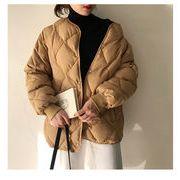 見なきゃ損する!韓国ファッション おしゃれな 気質 厚手 カジュアル 簡約 百掛け ダウンコート