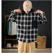 【大きいサイズM-5XL】【秋冬新作】ファッション/人気ワイシャツ