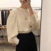 韓国ファッション ナチュラルブラウス