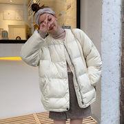 アウターウェア 女 秋 韓国風 新しいデザイン ファッション 手厚い コットンコート 何