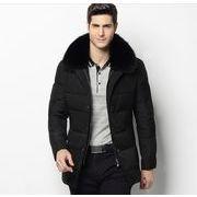 最高級 カジュアル 通勤 メンズ ダウンコート中綿 ダウンジャケット 厚手 学生 秋冬用 防寒 紳士用