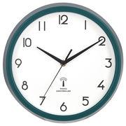 電波掛時計 カペラ Φ27cm グリーン