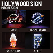 【HOLLYWOOD SIGN】NEON SIGN ネオンサイン【DINER 他】