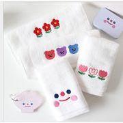 新作 タオル 刺繍 INS クマ 可愛い ファッション