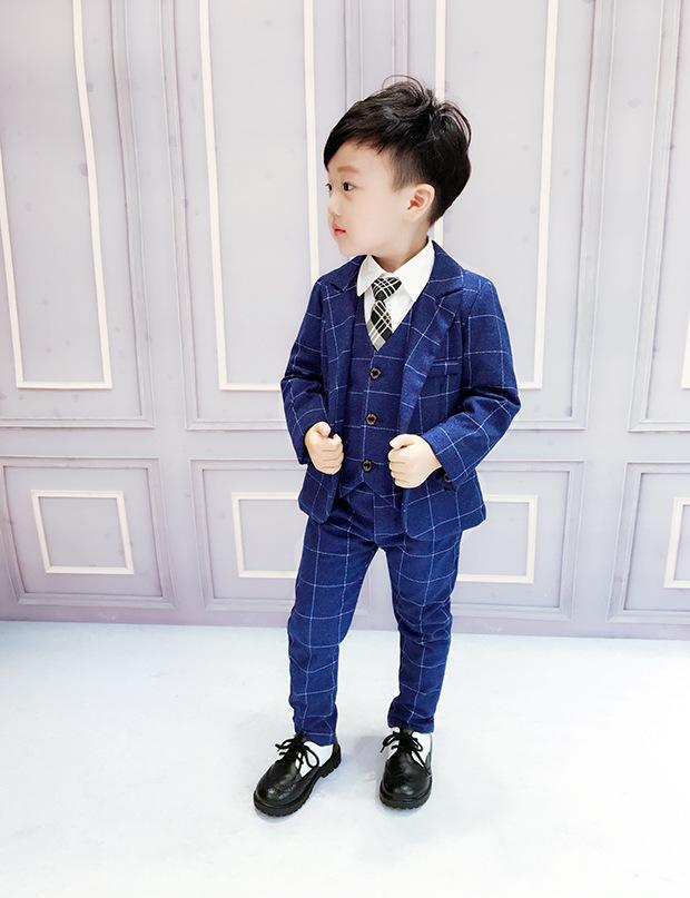 2020新作子供服 スーツ 入園 卒業式 入学式 発表会 結婚式 3点セット こどもスーツ  90-140cm