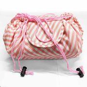 巾着型 コスメポーチ ドルチェ&ガッポーリ袋 化粧ポーチ 防水 メイク収納 巾着バッグ 小物入れ