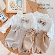 2021新作ベビー服 セットアップ 赤ちゃん 男の子 ベビー シャツ+パンツ 上下セット 2点セット