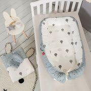 ベビーベッド ベッドインベッド 3点セット 布団 まくら 赤ちゃんベッド  ZCLA1249