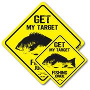 釣りステッカー クロダイ 黒鯛 Bタイプ 2枚セット FS027 フィッシング ステッカー 釣り グッズ