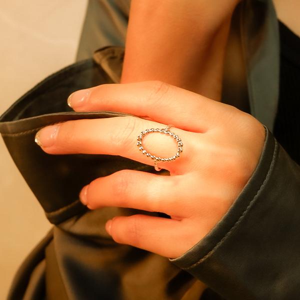 ボヘミアンリゾート リング フリーサイズ 指輪 ステンレス 金属アレルギー対応 インスタ