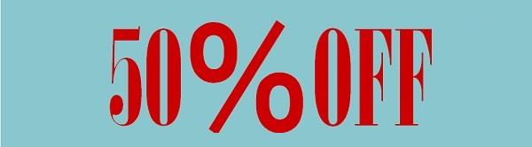 アクリルパーツ(一部) 50%OFF