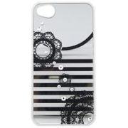 iDress iPhone4/4S ミラージュエリーカバー レース ピンク・i4S-38PK