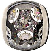 【新品取寄せ品】セイコークロック ディズニータイム「ミッキー&フレンズ」電波掛時計 FW563A