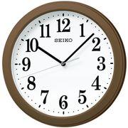 【新品取寄せ品】セイコークロック 電波掛時計 KX379B