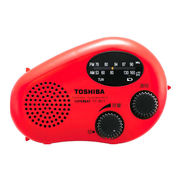 TY-JR11-R 東芝 防水形充電ラジオ レッド