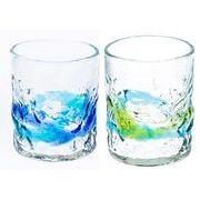 【大人気の琉球ガラス】暑い夏にぴったり!でこロックグラス(S)