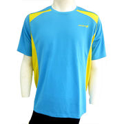 ●☆DOUBLE3メンズ (Men's) ショートスリーブシャツ(DW3280)ライトブルー50156