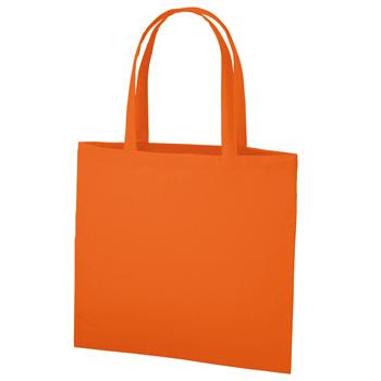 コットンフラットワイドトート オレンジ / トートバッグ イベント エコロジーバッグ