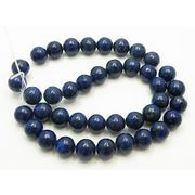 天然石 ビーズ 卸売/ ラピスラズリ(Lapis lazuli)染め ラウンドビーズ・丸玉ビーズ 10mm