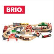 BRIO(ブリオ)レール&ロードデラックスセット