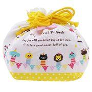 【新入園・新入学】WONDERFUL FRIENDS[巾着袋]ランチ巾着
