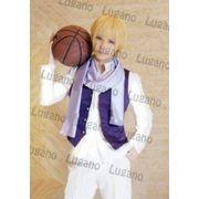 黒子のバスケ 黄瀬涼太 風 衣装+ウイッグセット  コスプレ衣装 完全オーダーメイド