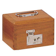 コレクト 印箱(錠付)木製 豆 AK-8 3列2段