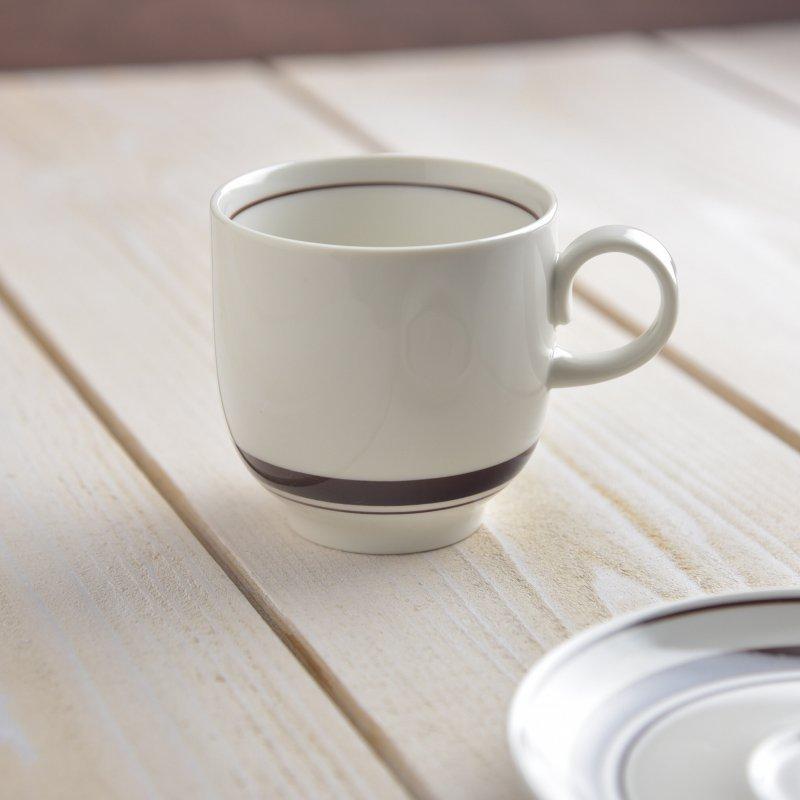 【特価品】スノートンボーダー アメリカン碗(コーヒーカップ/マグカップ)[B品][美濃焼]