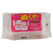 使い捨てカイロ(長持ち18時間) ぬくポン ぬくぬくカイロ10個入/日本製