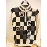 ミラショーン ロゴ ハーフジップセーター