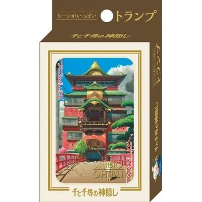 千と千尋の神隠しシーンいっぱいトランプ2!オリジナルケース付き!スタジオジブリ