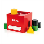 BRIO(ブリオ) 形合わせボックス(赤)