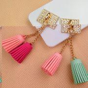 キラキラ可愛いDIYストラップ 大人気の携帯DIY用 - デコパーツ手芸クラフト生地 材料全2色