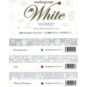 ROUNDTOP yano design White winter マスキングテープ 3柄