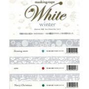 ROUNDTOP yano design White winter マスキングテープ 3柄
