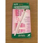 ピンクリボン鉛筆12本セット