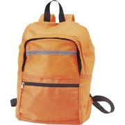 携帯用リュック オレンジ 39015