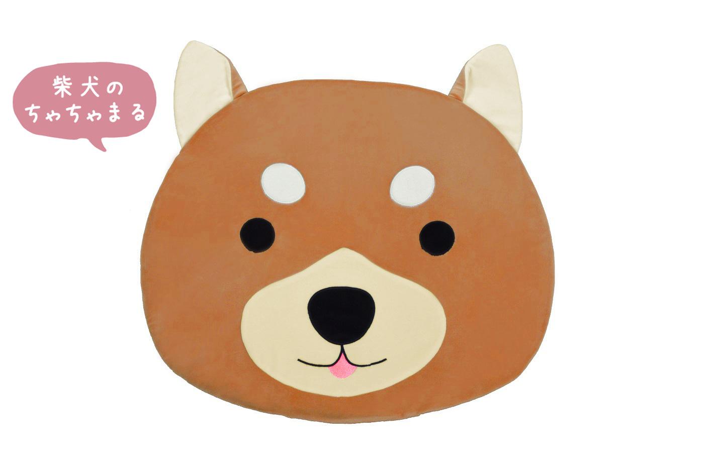 ルームマット(柴犬)【 ほっこりめいとシリーズ 】