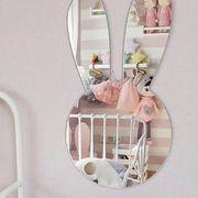 格安! INS人気ベビー新作★撮影写真★子供部屋装飾★デザイン小物★アクリル鏡★壁飾り掛け飾★ウサギ