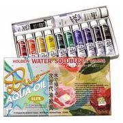 ホルベイン 油絵具 アクアオイルカラー DUO 12色セットエリートセット DU905 20ml(6号)