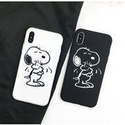iPhoneXR ブラックパーピーiphoneスマホケース