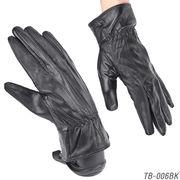 【本革メンズ手袋】 ラム皮レザーグローブ 秋冬 紳士テブクロ 革手袋 TB-006
