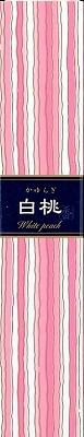 かゆらぎ スティック 白桃40本 【 日本香堂 】 【 お香 】