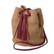 トートバッグ(テディII)【夏 カゴ レディース 巾着 バッグ】