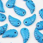 【一粒売り】バラ石 天使の羽 翼 フェザー ハウライトトルコ  品番: 10718