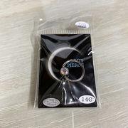 ボディピアス サージカルステンレス 14ゲージ 12mm キャプティブビーズリング オーロラジュエル