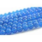 連 ブルーアゲート  丸 10mm    品番: 4428